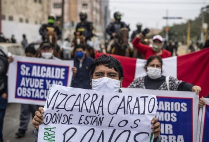 protestas peru presidente
