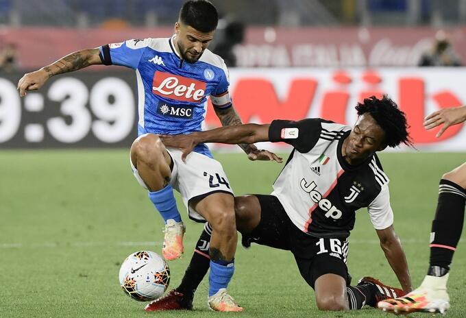 Napoli vs Juventus; Copa Italia