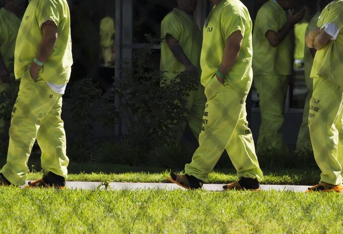 Reo en prisión de EEUU