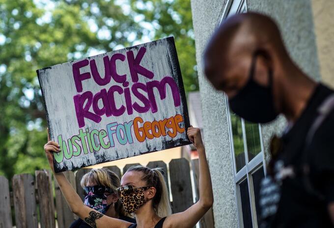 MARCHA CONTRA EL RACISMO