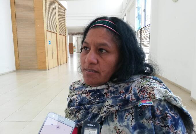 Líder indígena Cauca