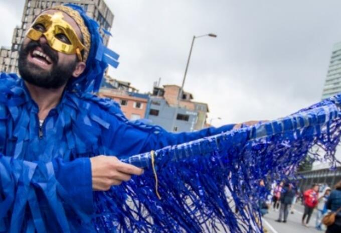 Artistas desfile cultura
