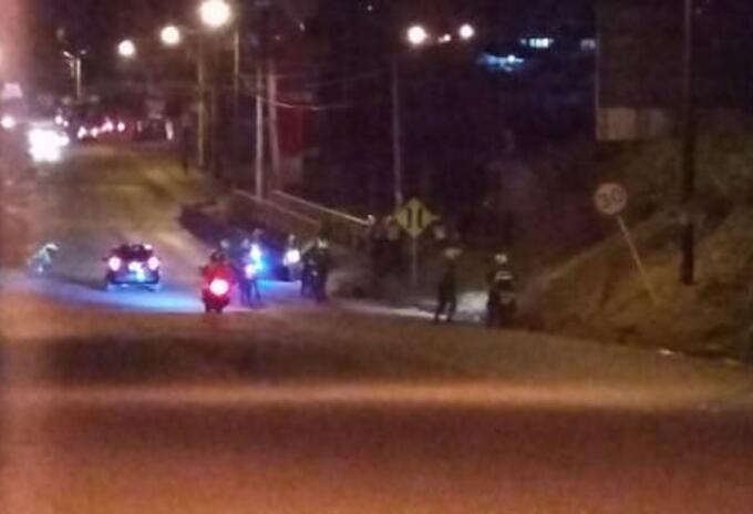 Enfrentamientos entre policías y delincuentes en Buenaventura