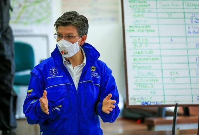 Claudia López explica medidas para contener el coronavirus