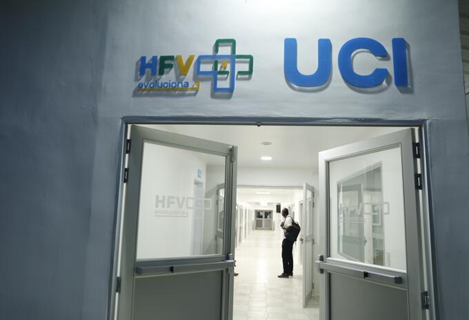 UCI del Hospital Francisco Valderrama de Turbo, Urabá antioqueño.