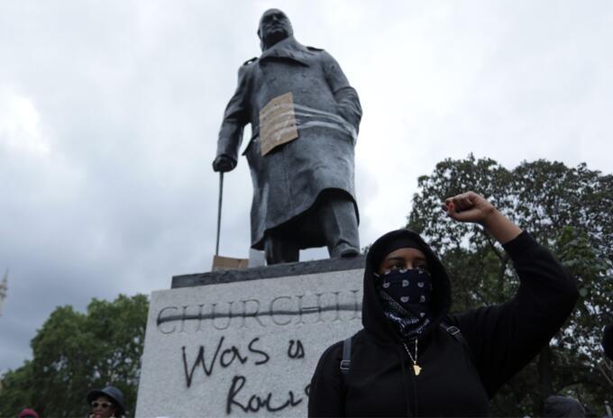 Estatua de Winston Churchill