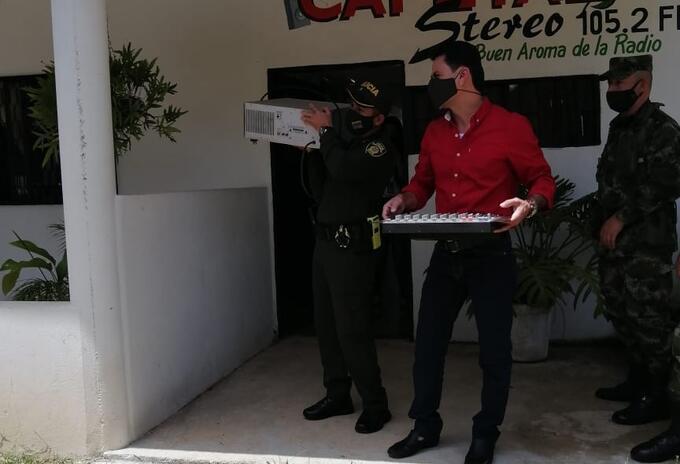 Emisora cerrada en Cesar por caso de presunto maltrato