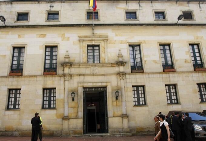 Cancillería colombiana fachada