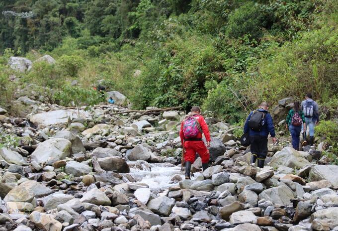 Quebrada La Liboriana de Salgar, Antioquia.