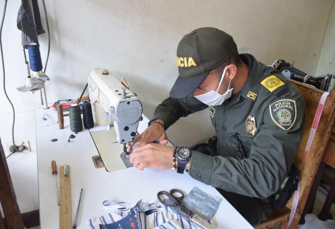 Las labores sociales se realizan en Montelíbano.