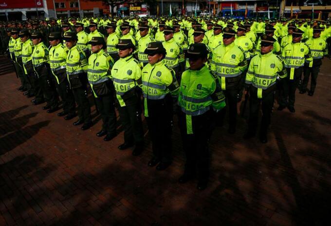 Policías Contagios