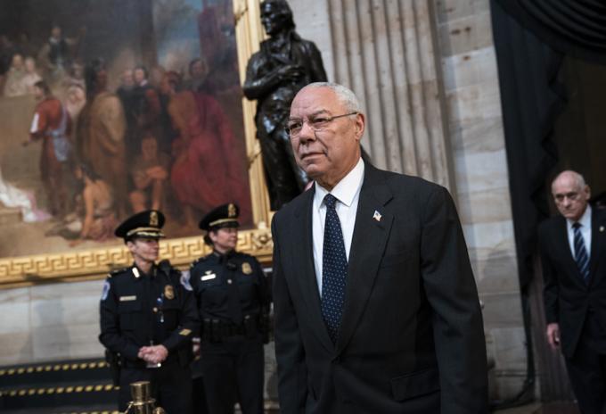 Colin Powell, exsecretario de Estado de EE.UU.