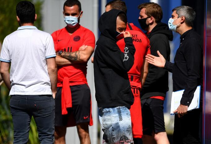 PSG regresó a entrenamientos / Coronavirus en Francia