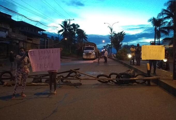 Comunidad en Buenaventura se quejan por falta de ayudas humanitarias