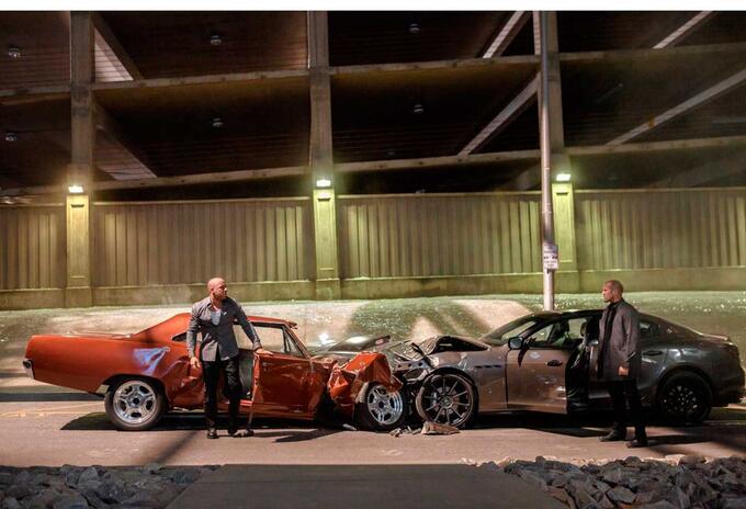 En las grabaciones de Rápidos y Furiosos se han acabado totalmente cientos de vehículos