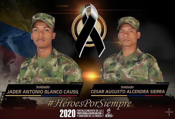Soldados muertos