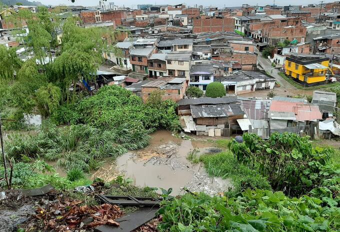 Inundación Dosquebradas.