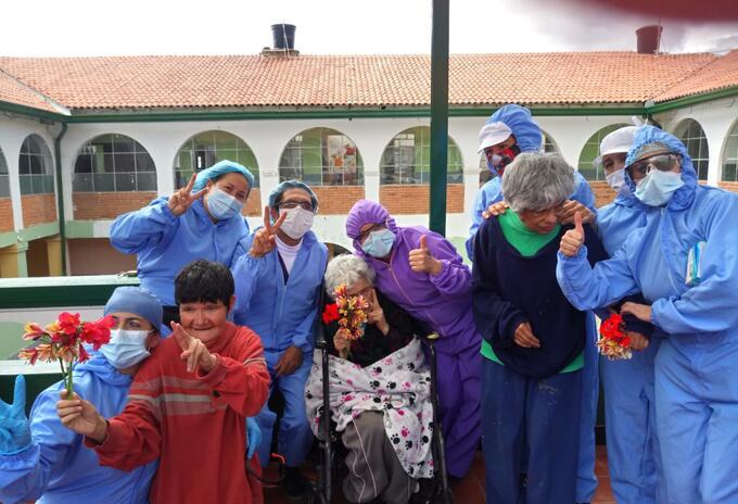 Asilo, Tunja, coronavirus