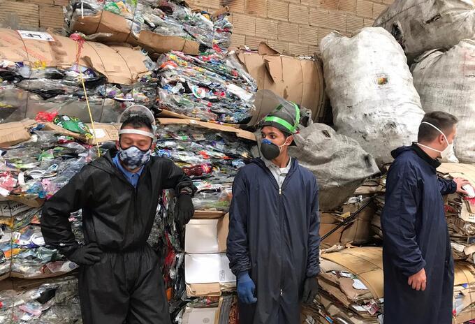 Recicladores encuentran una bebé muerta en Chía