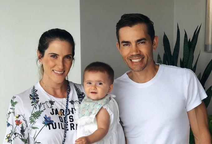 María Ochoa, Camilo Villegas y Mía
