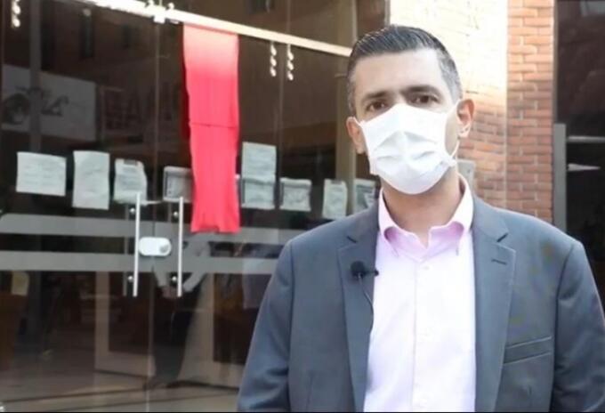 Alcalde de Envigado, Braulio Espinosa.