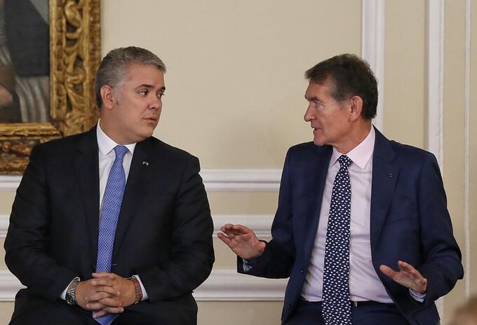 Ángel Custodio Cabrera, ministro de Trabajo