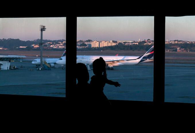 Aeropuerto de Sao Paulo / Coronavirus en Brasil