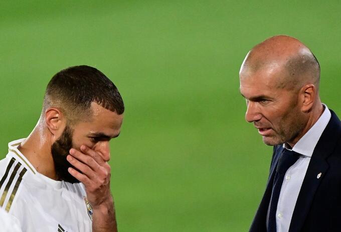 Karim Benzema, delantero del Real Madrid