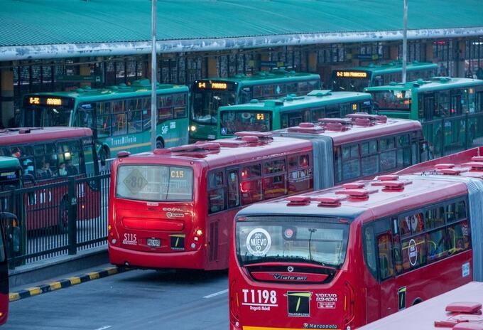 Buses de Transmilenio