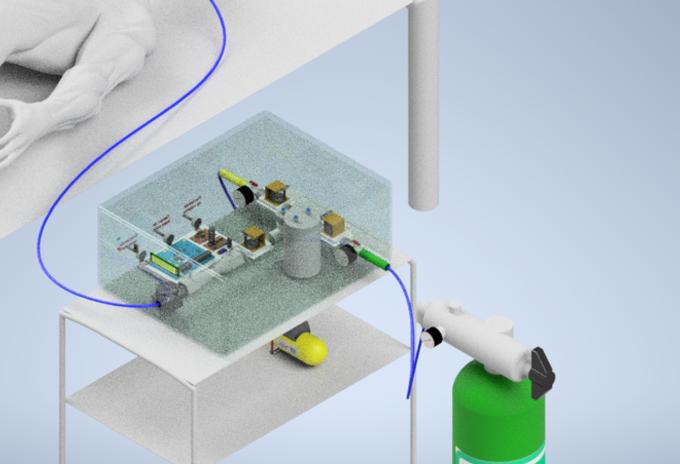 Ventilador mecánico desarrollado por la U. de la Sabana