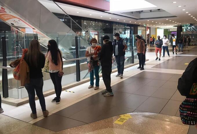 Día sin IVA: Colombianos no salieron y prefirieron las filas virtuales