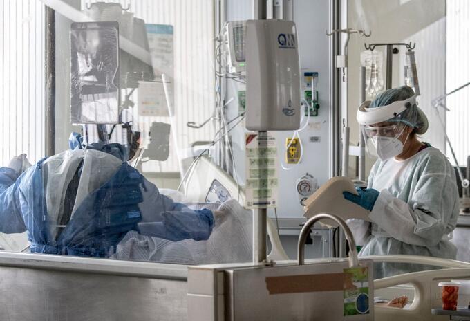 Pacientes contagiados de coronavirus en Colombia.