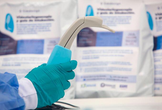 Laringoscopios hechos en Colombia