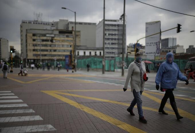 Coronavirus en Bogotá / uso de tapabocas