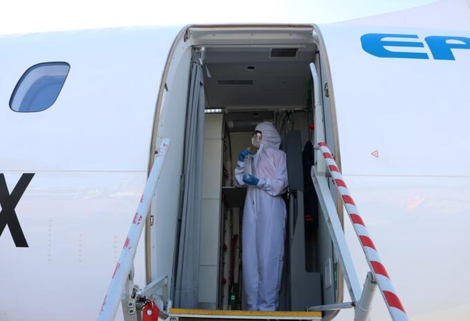 El primer vuelo doméstico se realizó, este 21 de julio, entre Bucaramanga y Cúcuta.