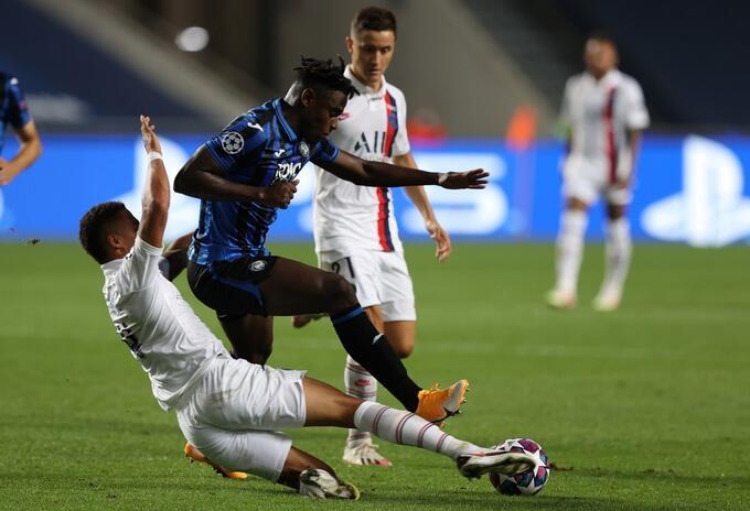 Atalanta vs PSG, Champions League