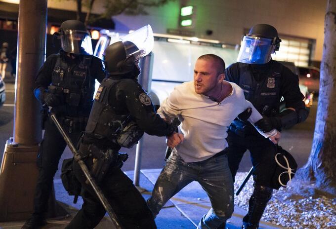 Protestas en Portland EE.UU.