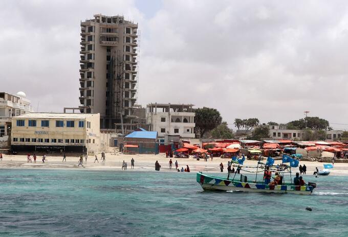 Hotel de Mogadiscio atacado
