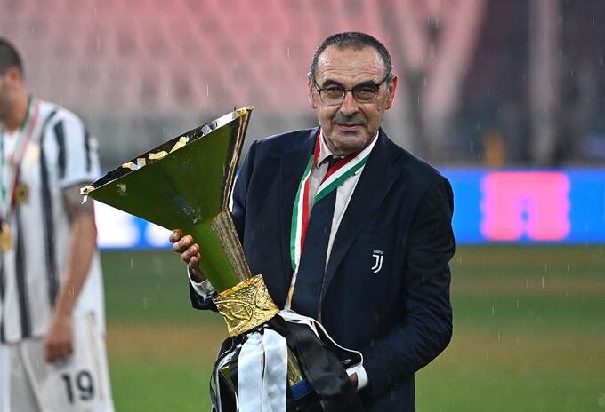 Maurizio Sarri, técnico de Juventus
