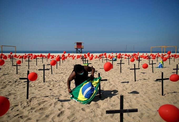 Playa en Río de Janeiro