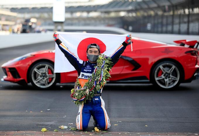 Takuma Sato ganó las 500 millas de Indianápolis