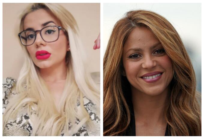Amaranta y Shakira