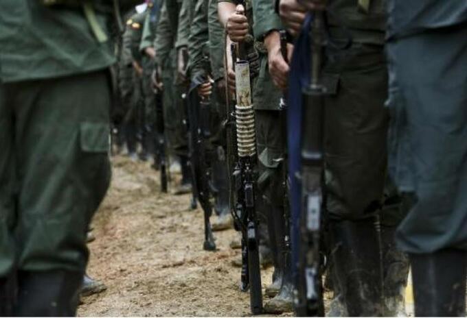 Los grupos ilegales se disputan el territorio en Naroño