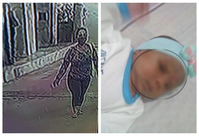 Bebé raptada en Cartagena