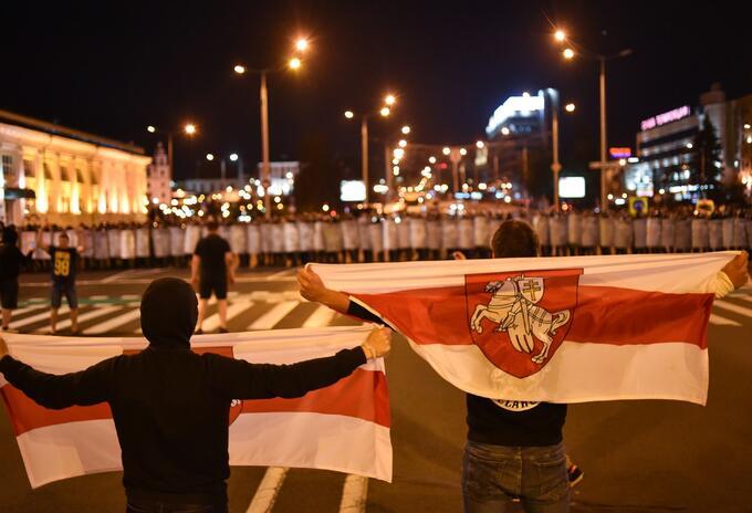 Protestas en Bielorrusia tras elecciones presidenciales