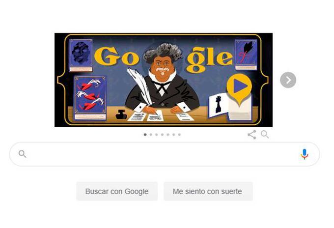 Doodle Alejandro Dumás