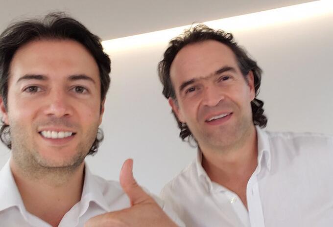 Daniel Quintero y Federico Gutiérrez