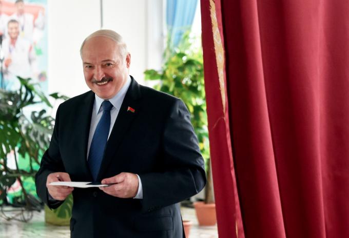 AlexanderLukashenko, presidente de Bielorrusia