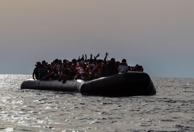 MSF y Sea Watch rescatan a migrantes en el Mediterráneo