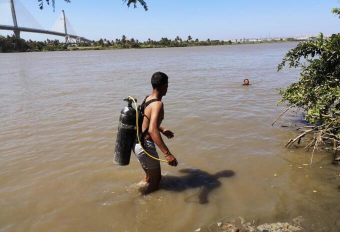 Menor desaparecido en aguas del Río Magdalena